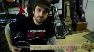 Ernie Ball Musicman Stingray 4 String bass test and overview. Grandcentral Music