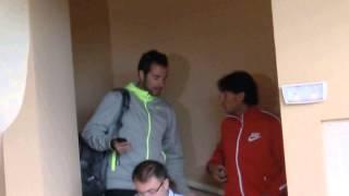 2013MONTE-CARLO Rafa Nadal signing autographs
