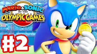 Mario & Sonic at the Olympic Games Tokyo 2020 - Gameplay Walkthrough Part 2 - Story Mode!