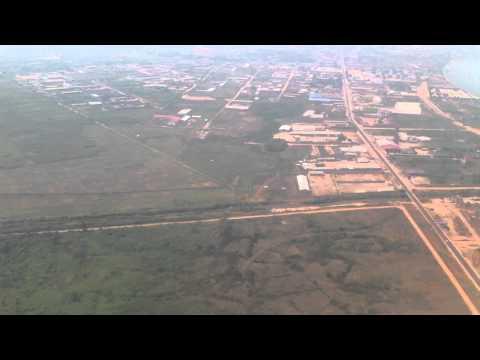 Take off from Bujumbura-Burundi