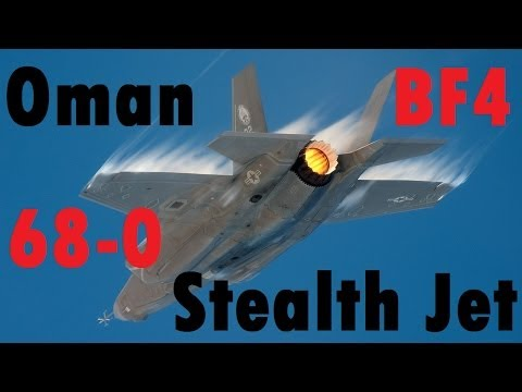 BF4 Stealth Jet - 68 Killstreak | Gulf of Oman: F-35 | High Graphics - Turbopummel