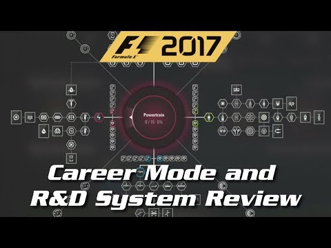 F1 2017 - Career Mode and R&D System Review
