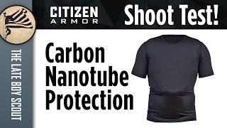 Citizen Armor: Carbon NT Body Armor Shooting Test
