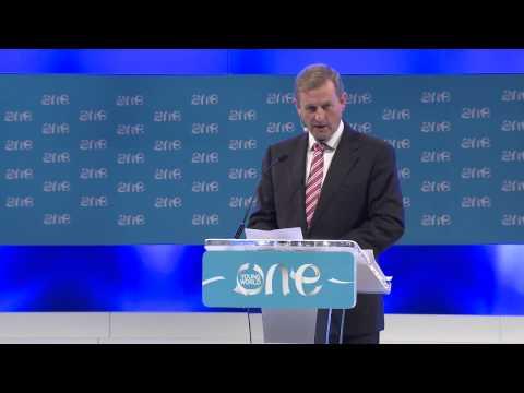Welcome speech by An Taoiseach Enda Kenny