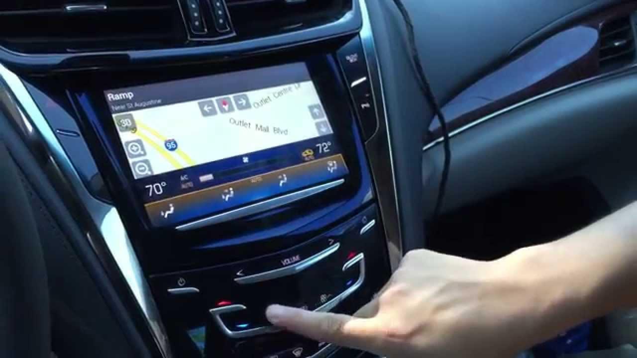 2015 Cadillac CTS Navigation Interface, Cadillac Navigation Upgrade, CUE  Navi, Sintegrate