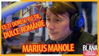 "Emotie totala!!!! Marius Manole recita &quotCe-ti doresc eu tie, dulce Romanie!"" I # ..."