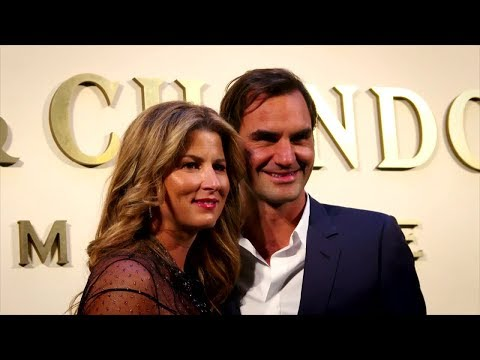 Federer Marks 20th Year On Tour With Special Party