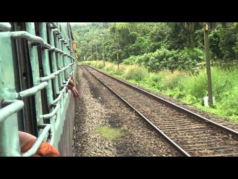 Sabari exp Video journey from Trichur to Coimbatore (Part 1)