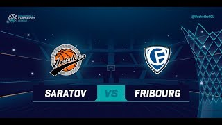 LIVE 🔴 - Avtodor Saratov v Fribourg Olympic - Qualification Rd. 1 - Basketball Champions League