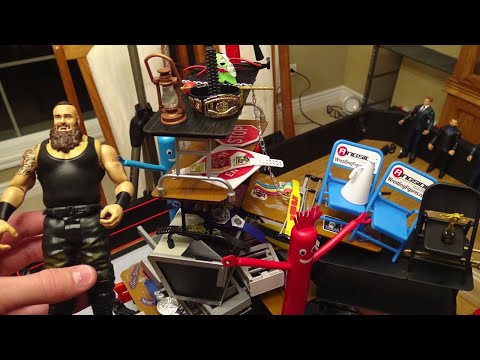 How To DESTROY Your WWE Figures!!!!