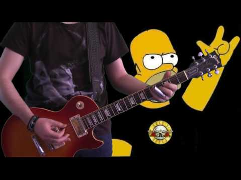 Guns N' Roses - The Garden (guitar cover)