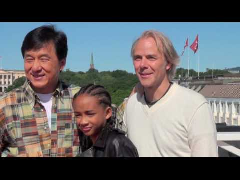 The Karate Kid (2010) Press Conference In Oslo - PART FIVE
