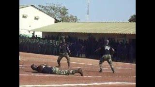 (Vidéo) Guinée: un tac-tic de combat à couper le souffle