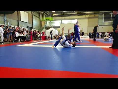 Alec Klonowska vs Jonathan Pridham CBJJF Alberta Open 2018