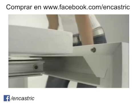 Encastric mesa consola extensible youtube for Mesa consola extensible