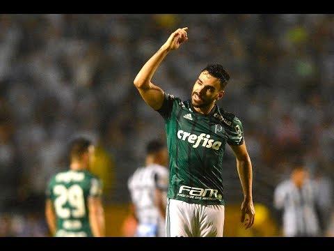 Gol De Bruno Henrique -  Palmeiras 1 (5) X (3) 2 Santos - Narração De Fausto Favara