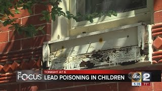 Lead poisoning remains a concern for Maryland children