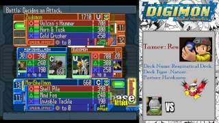 Digimon Digital Card Battle - Walkthrough Part 1: Beginner City!