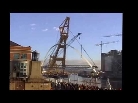 Millennium Bridge Installation