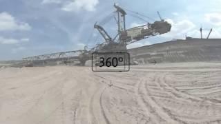 Der Tagebau Hambach im 360-Grad-Video - Wo die größten Maschinen der Welt arbeiten