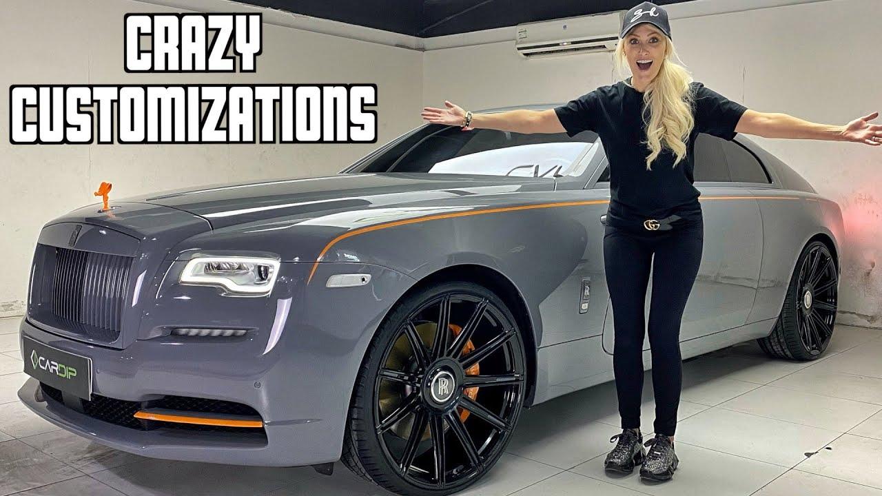 Revealing My Custom Rolls Royce Make-over!!