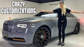 Revealing My Custom Rolls Royce Make-over!!