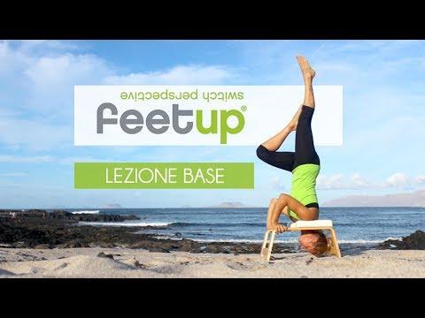 Yoga con il feetup youtube