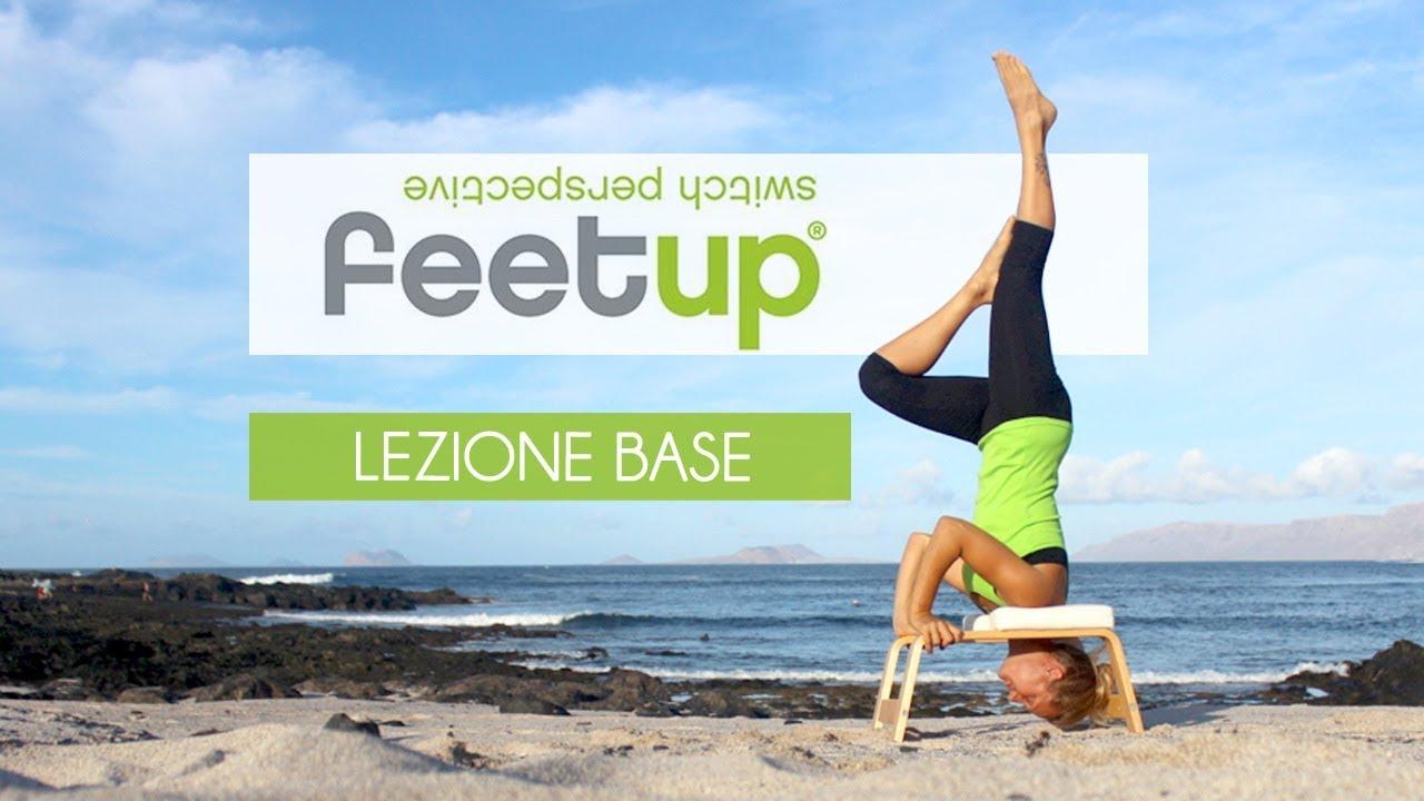 Sedia yoga per posizione verticale zangra