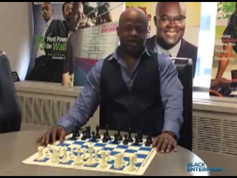Maurice Ashley talking about the work he did to become an international grandmaster in chess