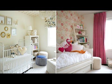 Interior Design — How To Design A Little Girl's Dream Bedroom & Nursery