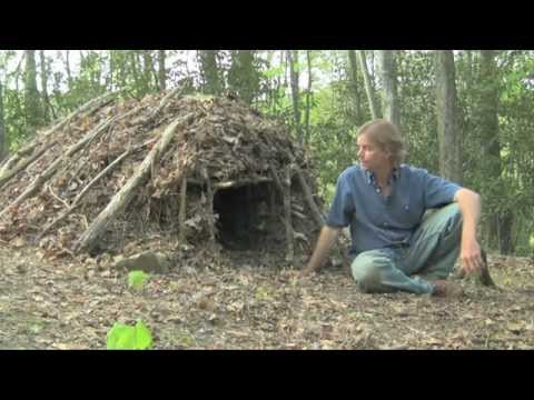 Survival Skills – Debris Shelter – Earth School