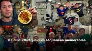 Les meilleures séquences vidéo de Thomas Pesquet dans l