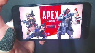 【驚愕︎】スマホで『Apex Legends』をプレイしてみた結果。【エーペッ…