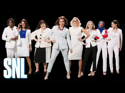 SNL: 'Women of Congress' Unites Ensemble To Take On The World