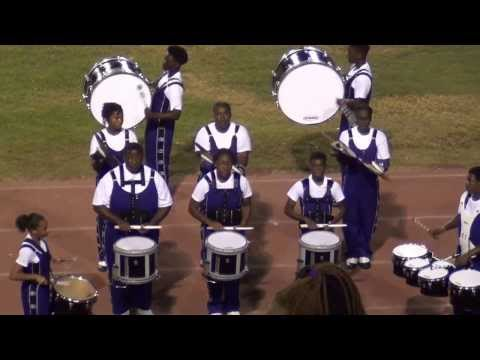 Miller Grove Drum Line vs Benjamin Mays 2013
