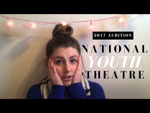 ❀ national youth theatre audition (2017) ❀