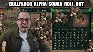 BULLFANGO ALPHA SQUAD ROLL OUT Monster Hunter Freedom PSP 1080p60