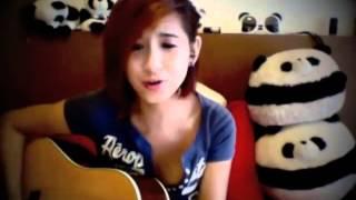 Girl xinh - đánh  ghita chuẩn - Relax Cùng Gangnam Style acoustic