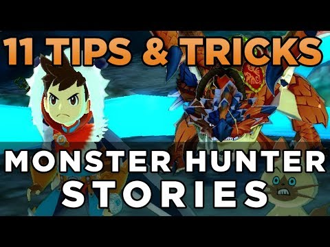 11 Tips and Tricks for Monster Hunter Stories
