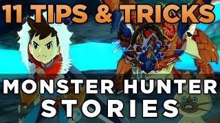 11 Tips and Tricks for Monster Hunter Stories