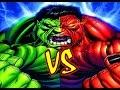 Hulk VS Red Hulk - EPIC BATTLE