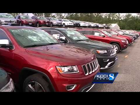 Thumbnail: Local dealers react to 4,300 car hail damage story