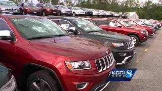 Local dealers react to 4,300 car hail damage story