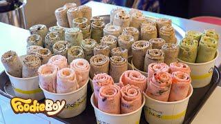 Ice Cream Roll Special / Korean Street Food / Devil's Recipe, Gumi Korea