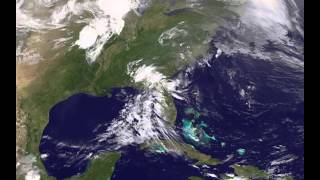 GOES 13 Satellite Animation Showing Tornado Outbreak of May 19-20, 2013