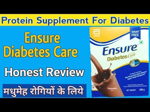 Ensure Diabetes Care Powder Benefits   Sugar Free Diabetic Protein Diet Supplement Health Drink