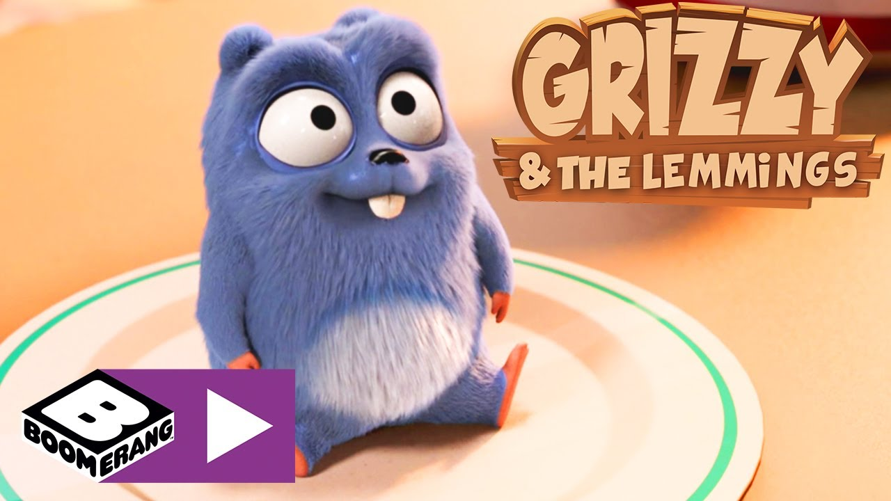 Grizzy I Lemingi Romantyczna Kolacja Boomerang Youtube