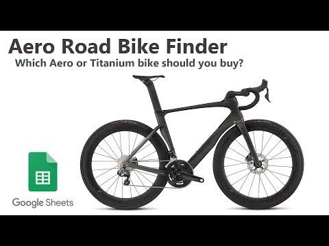 Top 10 Best & Top 10 Worst Aero & Ti Bikes AND Finder Spreadsheet