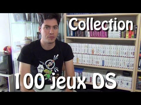 Ma collection de 100 jeux DS