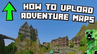 Minecraft 1.12 How to Upload Adventure Maps